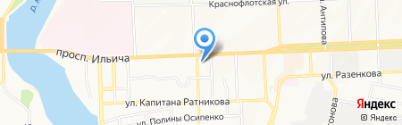 AXA Страхование на карте Донецка