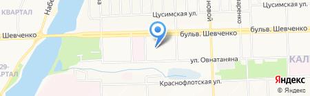 Банкомат УКРСИББАНК ПАО на карте Донецка