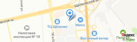 East Gate на карте Москвы