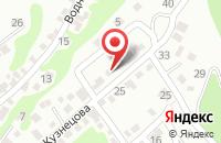 Схема проезда до компании Рекламная Группа «Агни» в Новороссийске