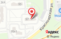 Схема проезда до компании Асб-Альянс в Москве