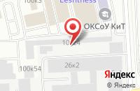Схема проезда до компании Техникс в Москве