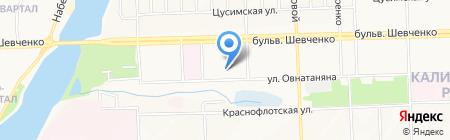 Донецкая областная образцовая автомобильная школа ОСОУ на карте Донецка