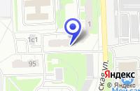 Схема проезда до компании ПЕТРОСПЕК-ЦЕНТР в Москве