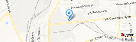 МегаГран на карте Донецка