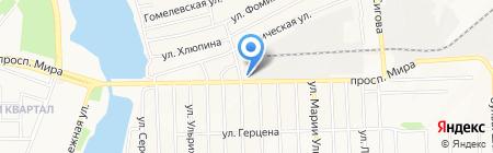 ЭкспертАвто на карте Донецка