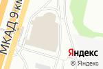 Схема проезда до компании Мир мебели в Москве