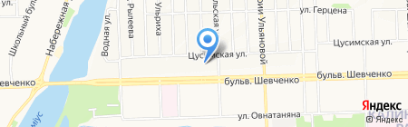 Универсальная на карте Донецка