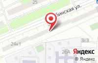 Схема проезда до компании ТЕХРЕМОНТ в Малаховке