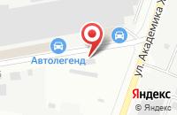Схема проезда до компании Алато в Дзержинском