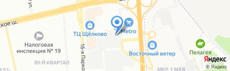 Тритех на карте Москвы