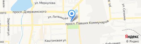 Добрі ліки на карте Донецка