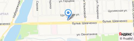 Бельэтаж на карте Донецка