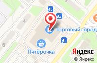 Схема проезда до компании Каталуна в Домодедово