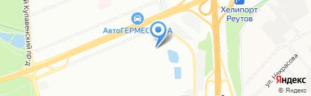 Средняя общеобразовательная школа №400 с дошкольным отделением на карте Москвы