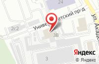 Схема проезда до компании Вирбис Проект в Дзержинском