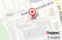 Схема проезда до компании Промприбор в Дзержинском