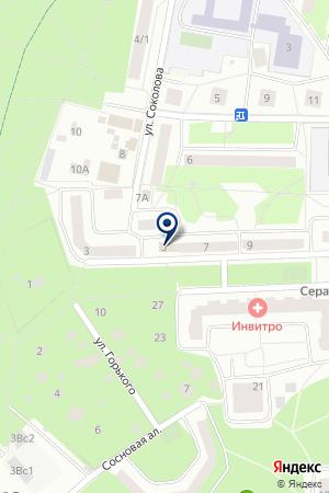 АВТОТЕХЦЕНТР ЭЛЕКТРОМОНТАЖСЕРВИС на карте Юбилейного