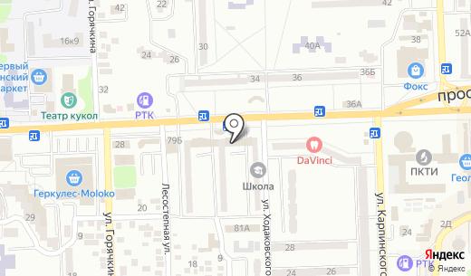 Компания компьютерного подбора автоэмалей. Схема проезда в Донецке