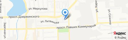 Областная спортивная школа Олимпийского резерва по велосипедному спорту на карте Донецка