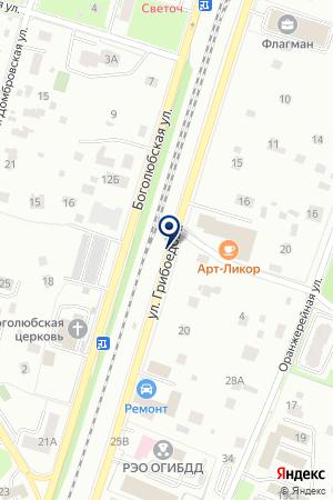 Мариэль на карте Пушкино