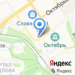 Всероссийское общество слепых на карте Старого Оскола