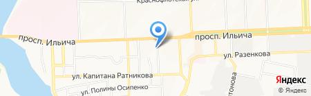 IN CLASS на карте Донецка