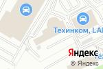 Схема проезда до компании DaCar в Котельниках