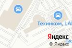 Схема проезда до компании Тринити Car в Котельниках