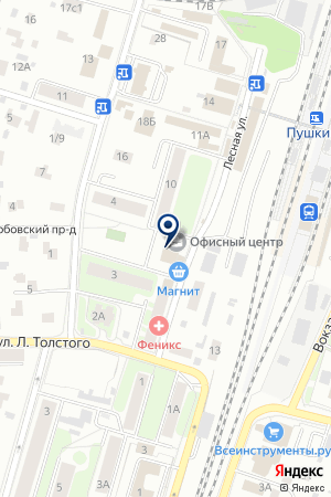 РЕКЛАМНО-ИЗДАТЕЛЬСКАЯ КОМПАНИЯ ВИРС на карте Пушкино