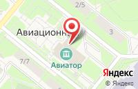 Схема проезда до компании Риал в Домодедово
