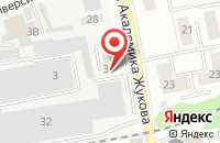 Схема проезда до компании Торговая Площадь в Дзержинском