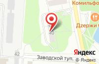 Схема проезда до компании ДИСК в Дзержинском
