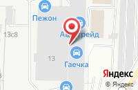 Схема проезда до компании Проектстроймонтаж в Москве