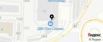 АСсервис на карте Москвы