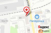 Схема проезда до компании Аллюр-Медиа в Дзержинском