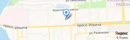 Детский сад №318 на карте Донецка