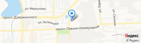 7 квартал на карте Донецка