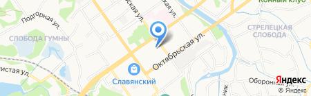 Старооскольский городской суд на карте Старого Оскола