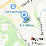 Старооскольский следственный отдел на карте Старого Оскола