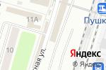 Схема проезда до компании Магазин канцтоваров в Пушкино