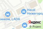Схема проезда до компании АвтоРезерв в Котельниках