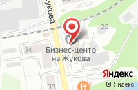 Схема проезда до компании Альянс-ВС в Дзержинском