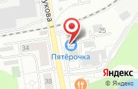 Схема проезда до компании РОСС в Дзержинском