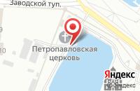 Схема проезда до компании Часовня иконы Божьей Матери Взыскание погибших в Дзержинском