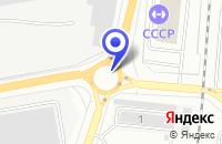 Схема проезда до компании АЗС ПЕРОН в Котельниках