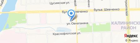 Абонентская служба водосбыта Калининского района на карте Донецка