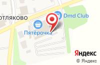 Схема проезда до компании Пятерочка в Чурилково
