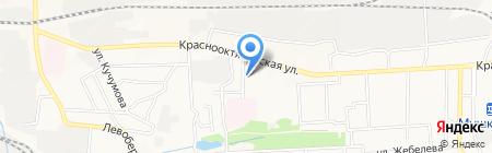 Общежитие на карте Донецка