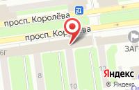 Схема проезда до компании Злата Мира в Королёве